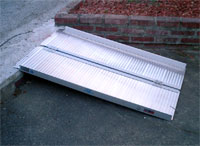 portable wheelchair ramp