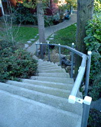 handrails and guardrails